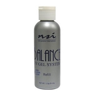 NSI Balance UV Gels - Body Builder Clear - 4oz / 113g