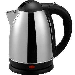 Brentwood Appliances Brentwood Appliances 1.7-Liter Stainless Steel Electric Cordless Tea Kettle,...