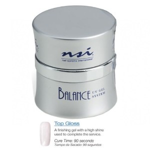 NSI Balance UV Gels - Top Gloss - 1oz / 30g