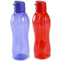 TP-380-T750 Tupperware Aquasafe Sports Water Bottle (Flip Top 750ml, 2 Pcs) by Tupperware