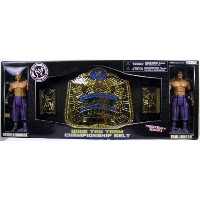WWE Championship Belts Tag Team Belt with Brian Kendrick and Paul London Action Figure Set By Jakks...
