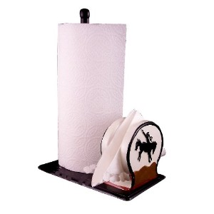 Papertowel Holder &ナプキンホルダーCowboy Western Decor