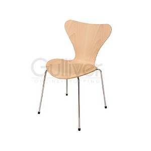 FritzHansen フリッツ ハンセン Fritz Hansen Series 7 - laminated Chair stackable standard height 46.5 cm...