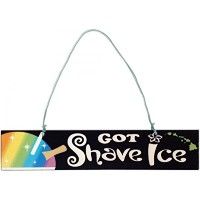 "Got Shave Ice島スタイルSign 9 "" x 2 """
