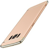 SOUNDMAE Samsung Galaxy S6 Edge Case,Ultra Thin Fit 3 In 1 Hard PC Case Cover Coated Electroplating...