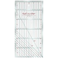 Quilt in a Day 6-Inch by 12-Inch Ruler