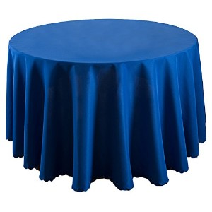 Zhhlinyuan 良質 ホーム Decoration Solid Color Table Cover Cloth Vintage Round Tablecloth