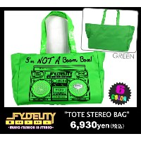 "【FYDELITY 半額セール】 SALE 【FYDELITY】(フィデリティ)全6色♪トートバッグ""TOTE STEREO BAG"" あす楽対応"
