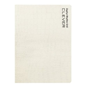ノート用カバー「LIBRETA(リブレタ)」for A6 Size[Crocodile White]