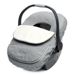 JJ Cole Car Seat Cover, Graphite by JJ Cole [並行輸入品]