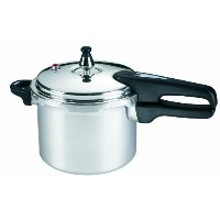 Mirro 92140A Polished Aluminum 10-PSI Pressure Cooker Cookware, 4-Quart, Silver by Mirro