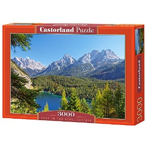 Lake in the Alps, Austria, 3000 Piece Jigsaw Puzzle By Castorland Puzzles by Castorland