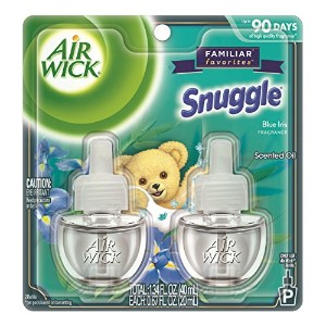 【Air Wick/エアーウィック】 プラグインオイル詰替えリフィル(2個入り) スナッグル ブルーアイリス Air Wick Scented Oil Twin Refill Snuggle...