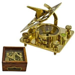 真鍮Nautical Sundial SunダイヤルコンパスSundialクロックSundial For Sale Sun Clock Buy Sundial Marine Nautical...