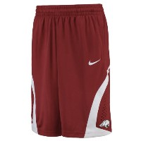 Arkansas Razorbacks Nike On Court Basketball Shorts メンズ Cardinal NCAA ナイキ バスパン カレッジ