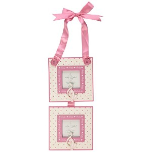 Baby Phat Hanging Photo Frame, Pink/White by Baby Phat