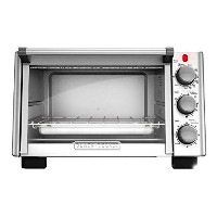 BLACK+DECKER TO2050S 6-Slice Toaster Oven, Silver by BLACK+DECKER