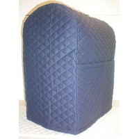 Quilted Kitchenaid Lift Bowl Stand Mixer Cover (Navy Blue) by Penny's Needful Things