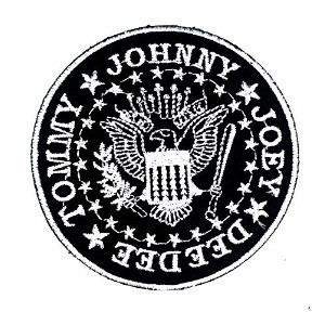 Ramones Crest Punk Rock Band Patches Embroidered Iron/sew on Patch to Cloth, Jacket, Jean, Cap, T...