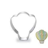 WJSYSHOP Hot Air Balloon Shape Cookie Cutter for Celebrations Christmas Birthday Party Wedding...