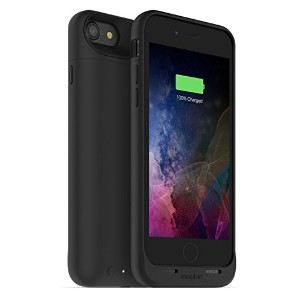 mophie juice pack air for iPhone 7 ワイヤレス充電機能付き バッテリーケース ブラック【日本正規代理店品】 MOP-PH-000145