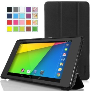 MoKo New Smart Shell Stand Case for Google Nexus 7 2013 (2th Gen) Tablet (BLACK)