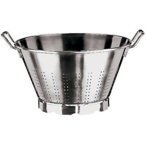Paderno World Cuisine 13-1/2-Quart Stainless Steel Vegetable Strainer [並行輸入品]