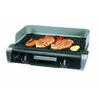 Emeril by T-fal TG8000 XL Griller with Two Independent Temperature Controls, Silver [並行輸入品]