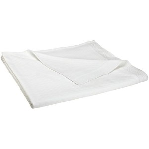 Peacock Alley Alyssa Coverlet, King, White [並行輸入品]