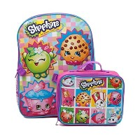 "Shopkins Toys 16 "" Kidsバックパックand Insulated Lunchバッグ"