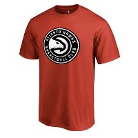 Atlanta Hawks Team Primary Logo T-Shirt メンズ Red NBA Tシャツ アトランタ ホークス