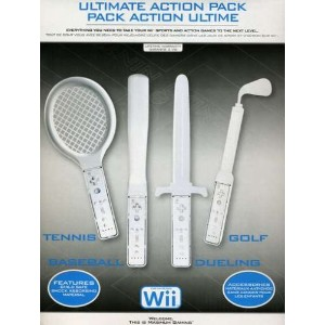 Wii Ultimate Action Pack (輸入版)