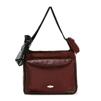 Momo Baby Satchel Diaper Bag, Burgundy by Momo Baby