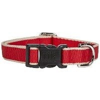 Harry Barker Chelsea Collar - Red & Tan - Small - 9-16 inch by Harry Barker