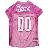 St. Louis Rams Pink Jersey MD