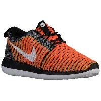 (取寄)ナイキ レディース ローシ 2 フライニット Nike Women's Roshe Two Flyknit Black Black White Bright Mango