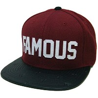 Famous Stars And Straps (フェイマス) スナップバックキャップ Pachuco Text Snapback