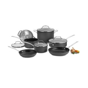 Cuisinart (クイジナート) 66-11 Chef's Classic Nonstick Hard-Anodized 11-Piece Cookware Set
