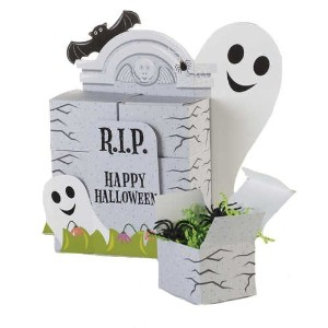 Ghostly Gravestone Table Centrepiece