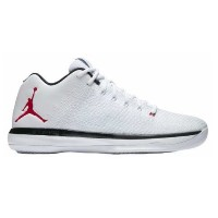 "Nike Air Jordan XXX1 31 Low XXXI ""Chicago Home""メンズ White/University Red-Black-Pure Platinum ジョーダン..."