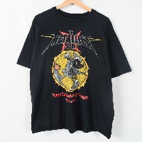 METALLICA メタリカ THE METALLICA CLUB FIFTEEN YEARS INFECTING THE PLANET 1993-2008 バンドTシャツ メンズXL ...