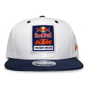 (ニューエラ) NEW ERA RED BULL KTM FACTORY RACING 【LOGO SNAPBACK/WHT-NAVY】 レッドブル [並行輸入品]