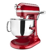 KitchenAid Pro Line Series 7 Qt Bowl Lift Stand Mixer - KSM7586PCA - Candy Apple Red 並行輸入品