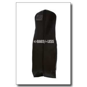 Brand New Black Breathable Wedding Gown Dress Garment Bag by Bags for Less [並行輸入品]