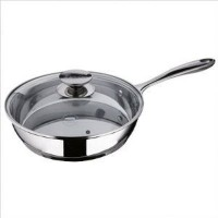 Berndes Injoy 2.5 Quart Stainless Steel Saute Pan with Glass Lid by Berndes