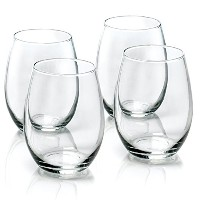 Anchor Hocking 15-Ounce 4-Piece Stemless Wine Glass Set [並行輸入品]
