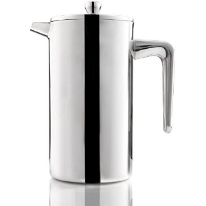 Cozyna Dove 8-cup (4oz Each) French Press Coffee and Tea Maker, Stainless Steel Double Wall, 34...
