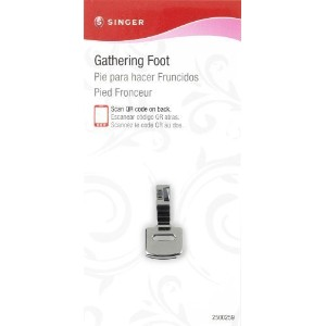 SINGER Gathering Presser Foot for Low-Shank Sewing Machines by Singer Sewing Co. [並行輸入品]