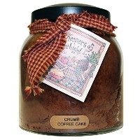 A Cheerful Giver Crumb Coffee Cake Papa Jar Candle, 34-Ounce [並行輸入品]