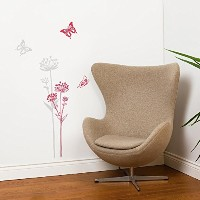 Mia & Co MIA718 Neuch?tel Transfer Wall Decals [並行輸入品]